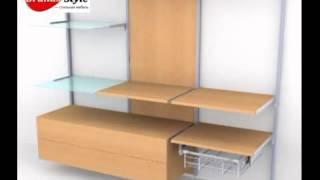 Гардеробная система Kali(Новинка от компании GrandSstyle -- теперь и Вы можете купить гардеробные шкафы-купе Kali и в полной мере оценить..., 2014-04-25T18:40:03.000Z)