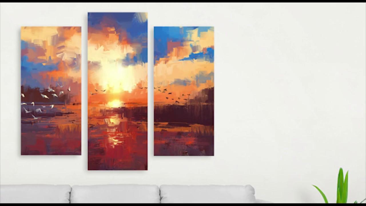 CanvasDeco Hiasan Dinding Untuk Ruangan Keluarga atau