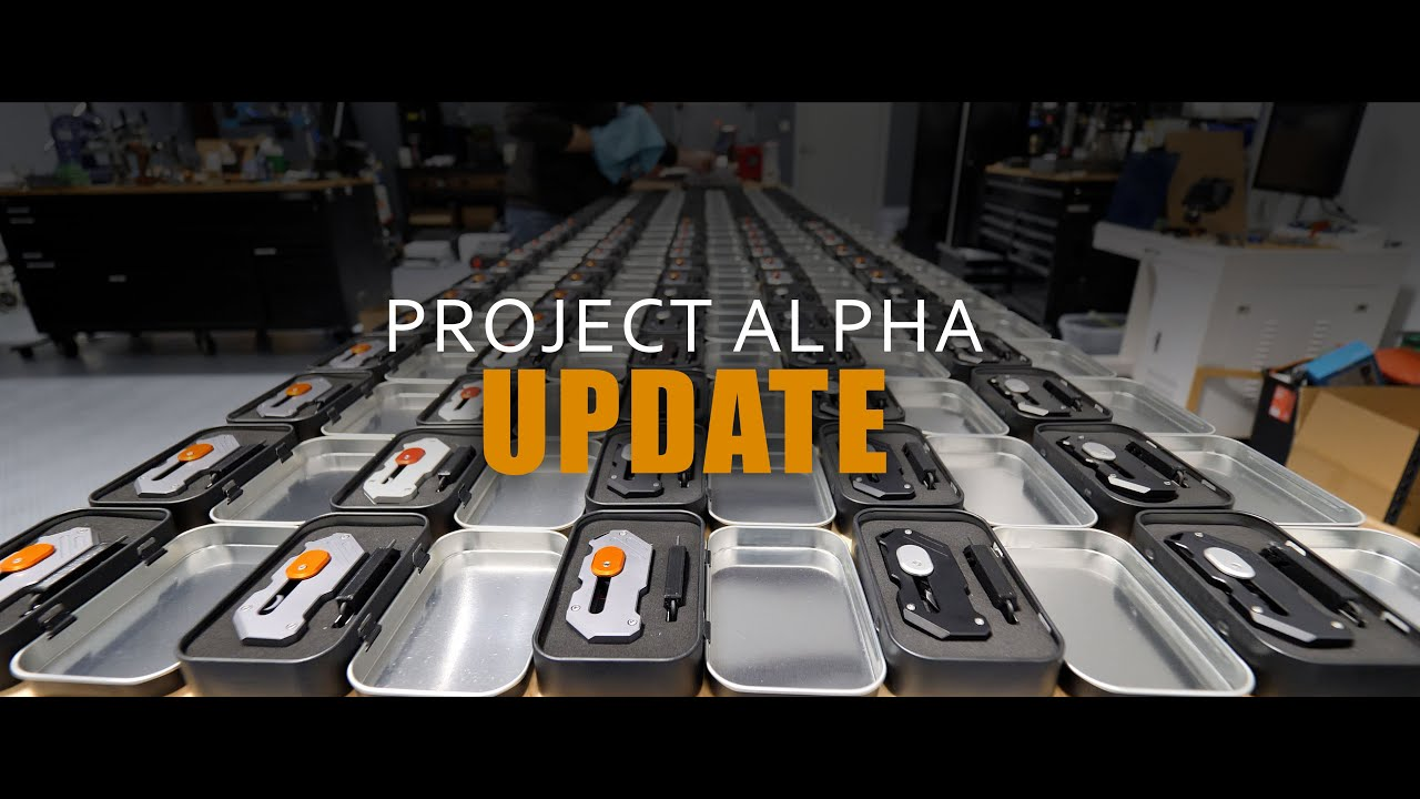 Project Alpha Production Update:1