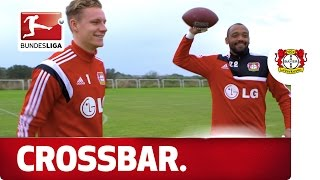 Leno vs. Yelldell - (American) Football Crossbar Challenge