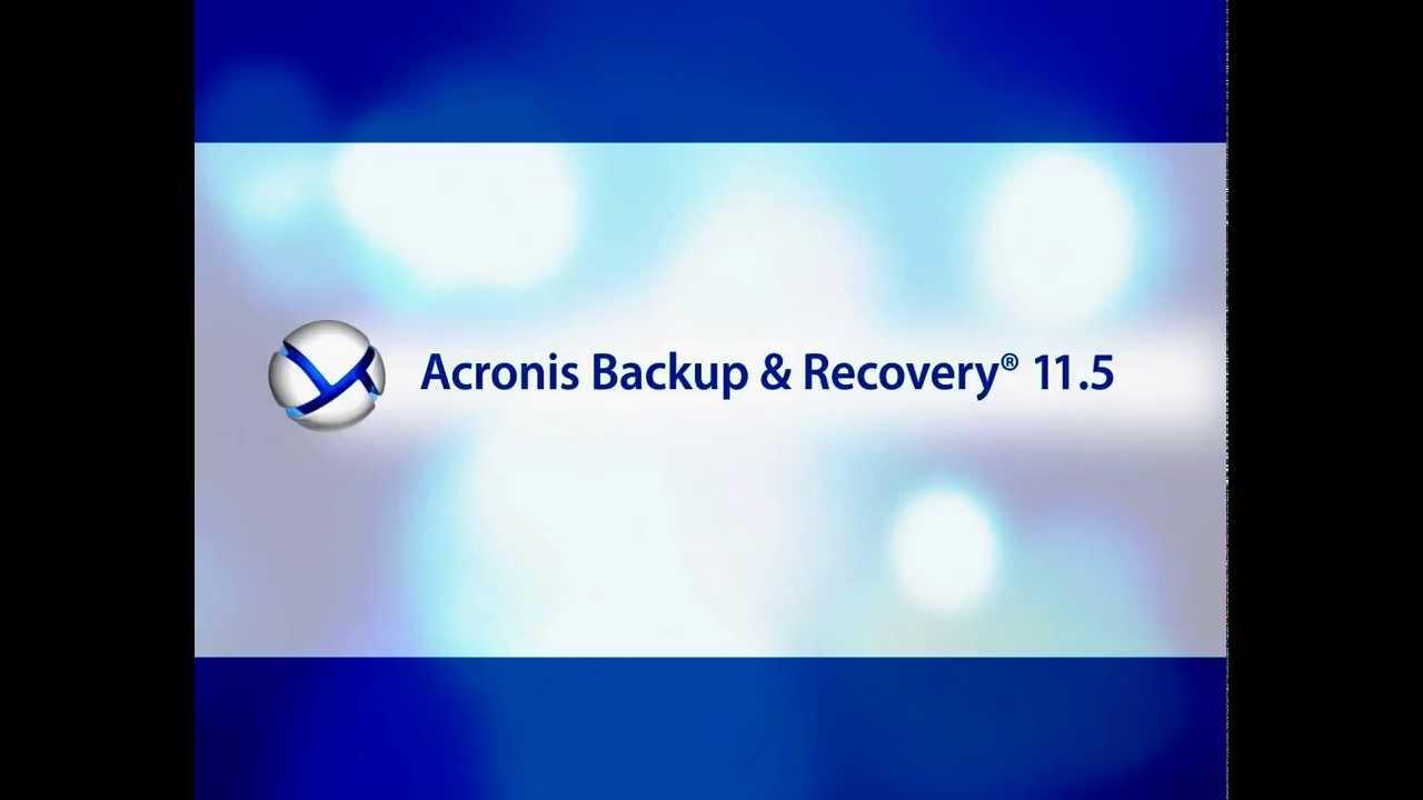 acronis backup scheme gfs