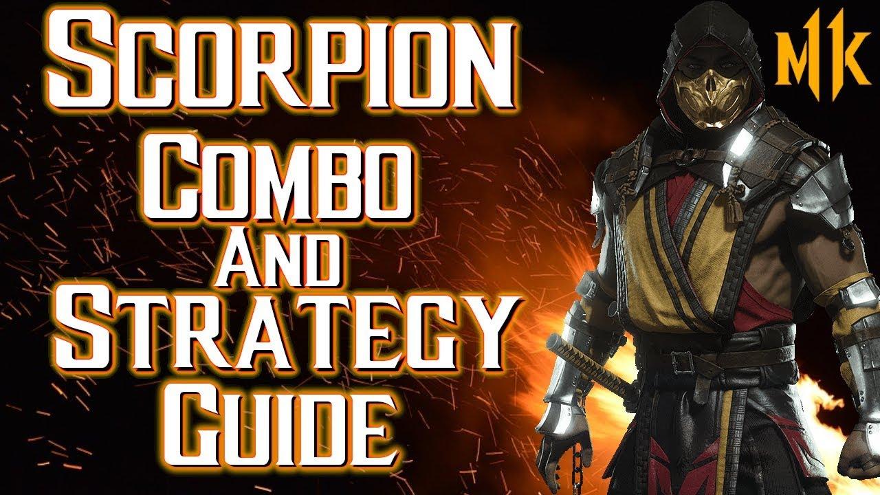 Scorpion Combo Tutorial And Strategy Guide Mortal Kombat 11 Youtube