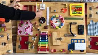 Sami Busyboard - Bảng bận rộn - Đồ chơi thông minh cho bé phát triển kỹ năng và tư duy