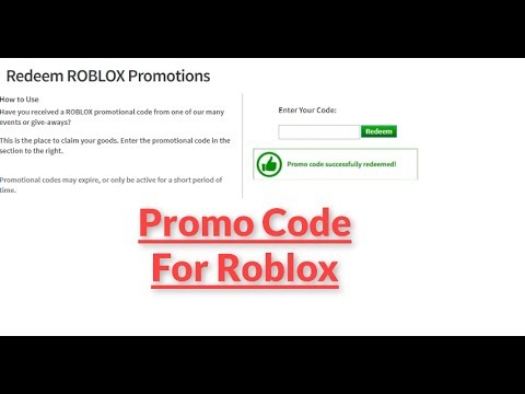 Roblox Promo Code For A Free Item - roblox promotions code