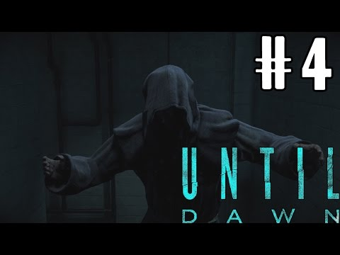 THE HOODED FIGURE! | Until Dawn: Part 4 with my Girlfriend