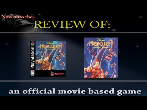 Movies to Video Games Review - Disney's Hercules Action Game (PS1/PC)