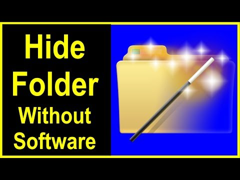 How to Hide Folder in windows 7|8.1|10 without software || Computer me folder kaise chupaye