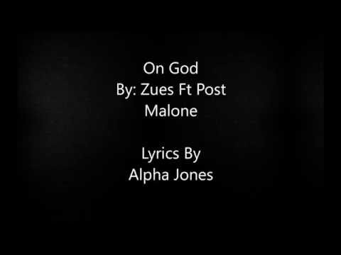 That's on God - Zuse Ft Post Malone | Lyric video