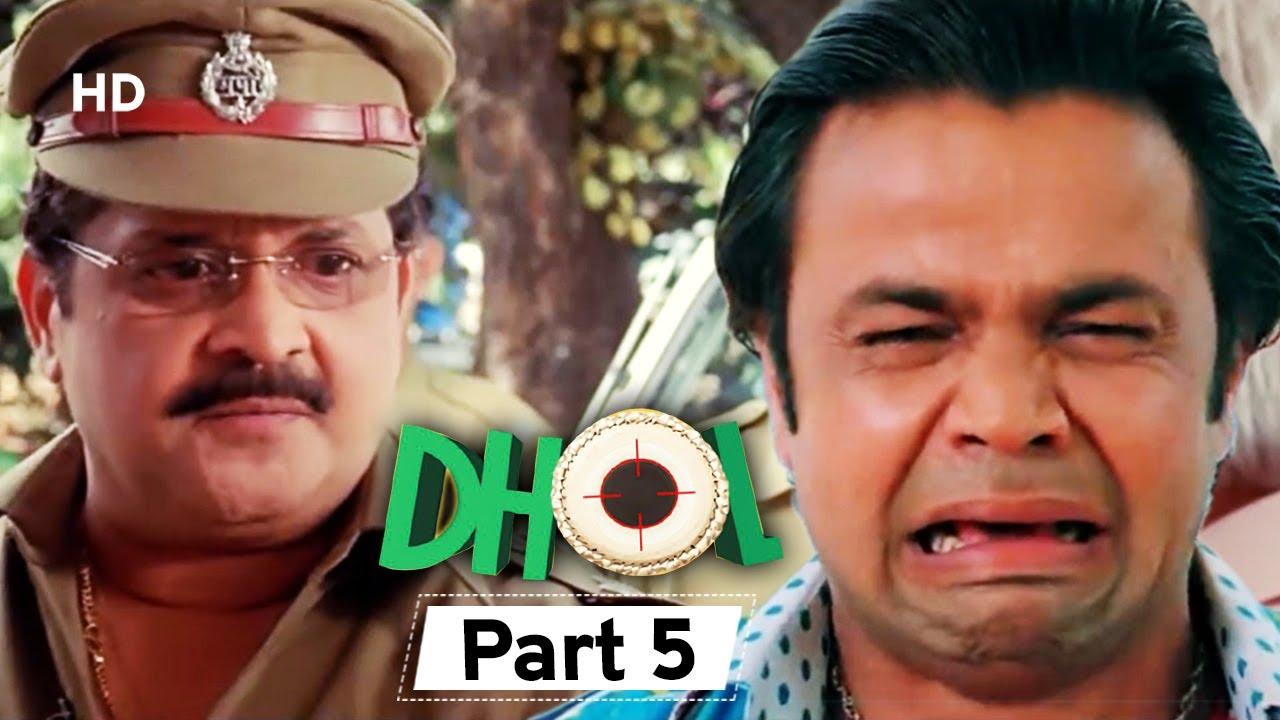 Dhol - Superhit Bollywood Comedy Movie - Part 5 - Rajpal Yadav - Sharman Joshi - Kunal Khemu
