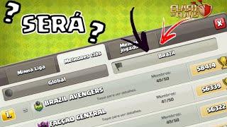 TOPS BRS NA GUERRA!!! LENDARIO SABE ATACAR? | CLASH OF CLANS!