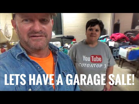 The Garage sale, CT3 style!