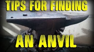 How to Find an Anvil in Your Budget