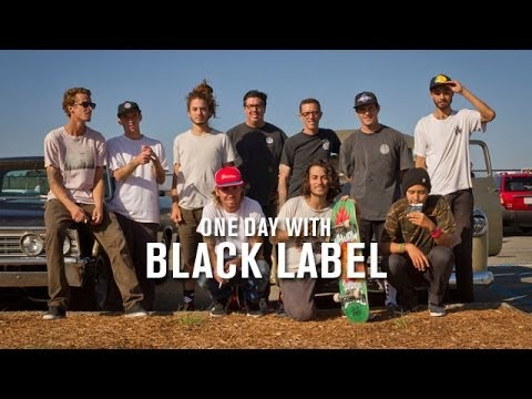 One Day With Black Label - TransWorld SKATEboarding