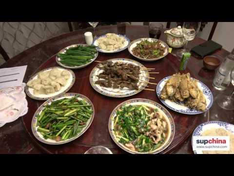 A Spring Festival celebration in Qingdao