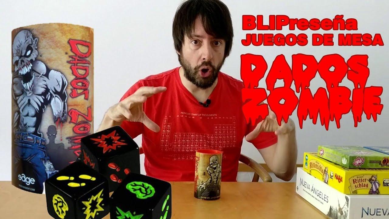 Juegos De Mesa Dados Zombie Para Ninos De 5 Anos Youtube