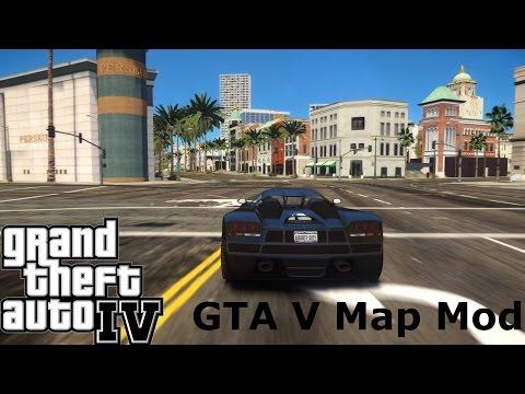 Grand Theft Auto IV   GTA V Map Mod   Citizen ViIV   60FPS   ICE 3.0   GTX770