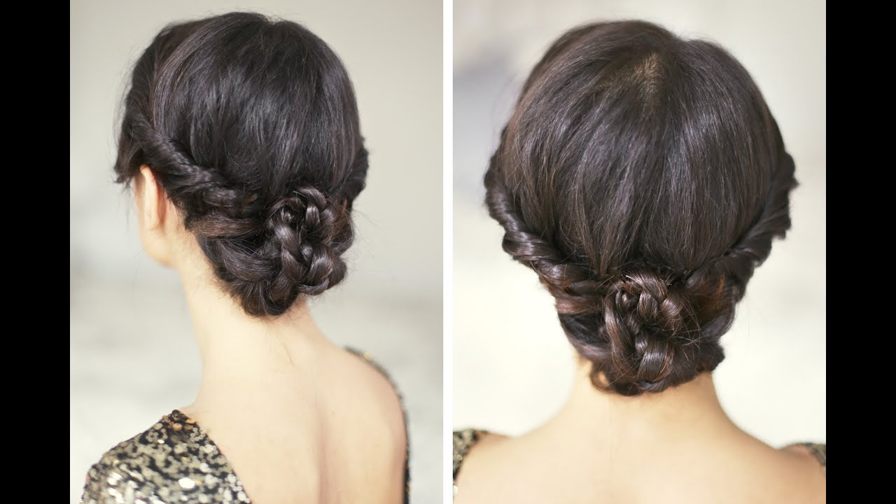 Party Hairstyle - YouTube