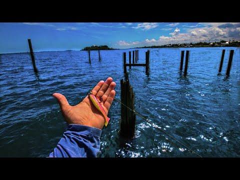 Fishing Abandoned Saltwater Docks Inshore