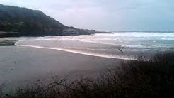 Yachats Oregon Tsunami footage March 11th 2011
