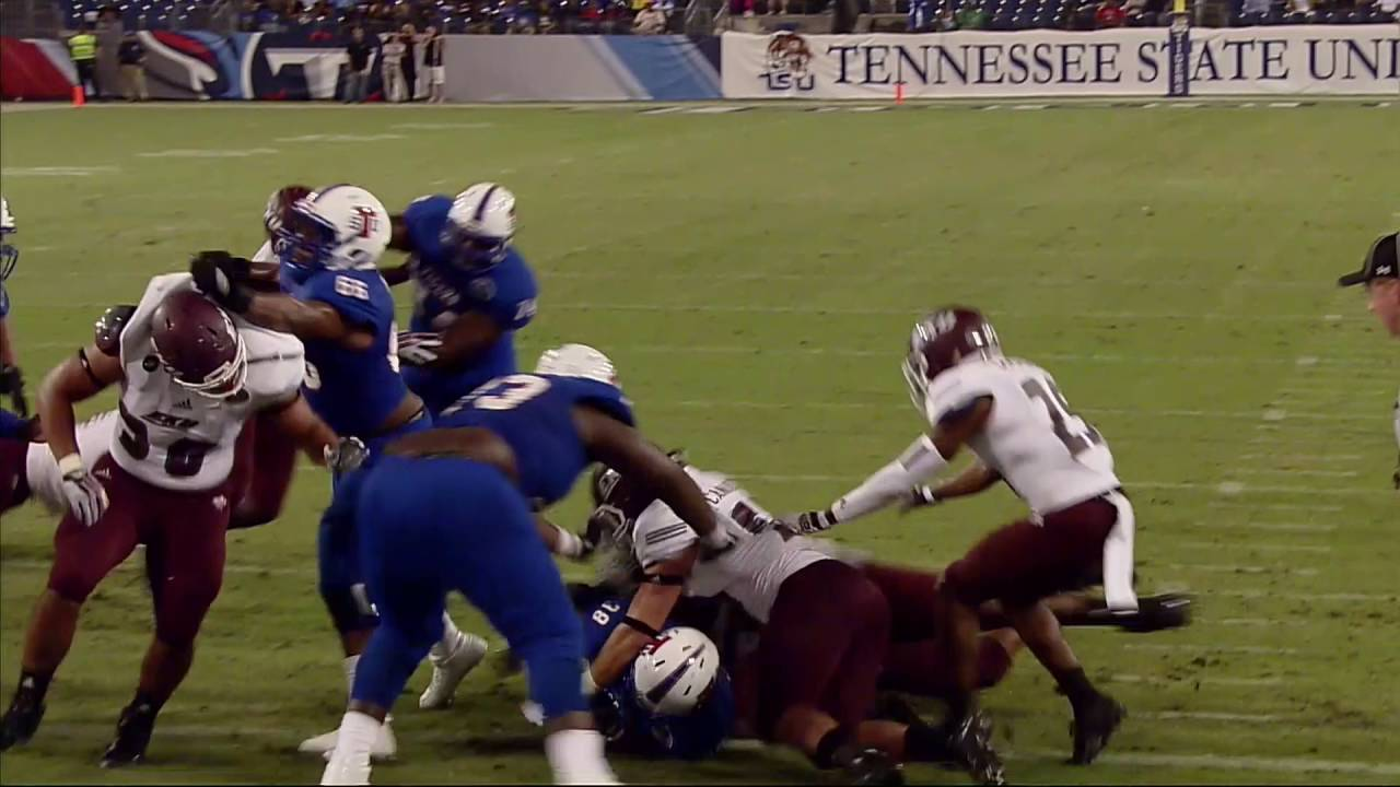 TSU Football vs. Eastern Kentucky - Game Highlights - Oct ...