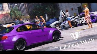 GTA 5 Liberty Walk Car Meet (Real Car Mods)
