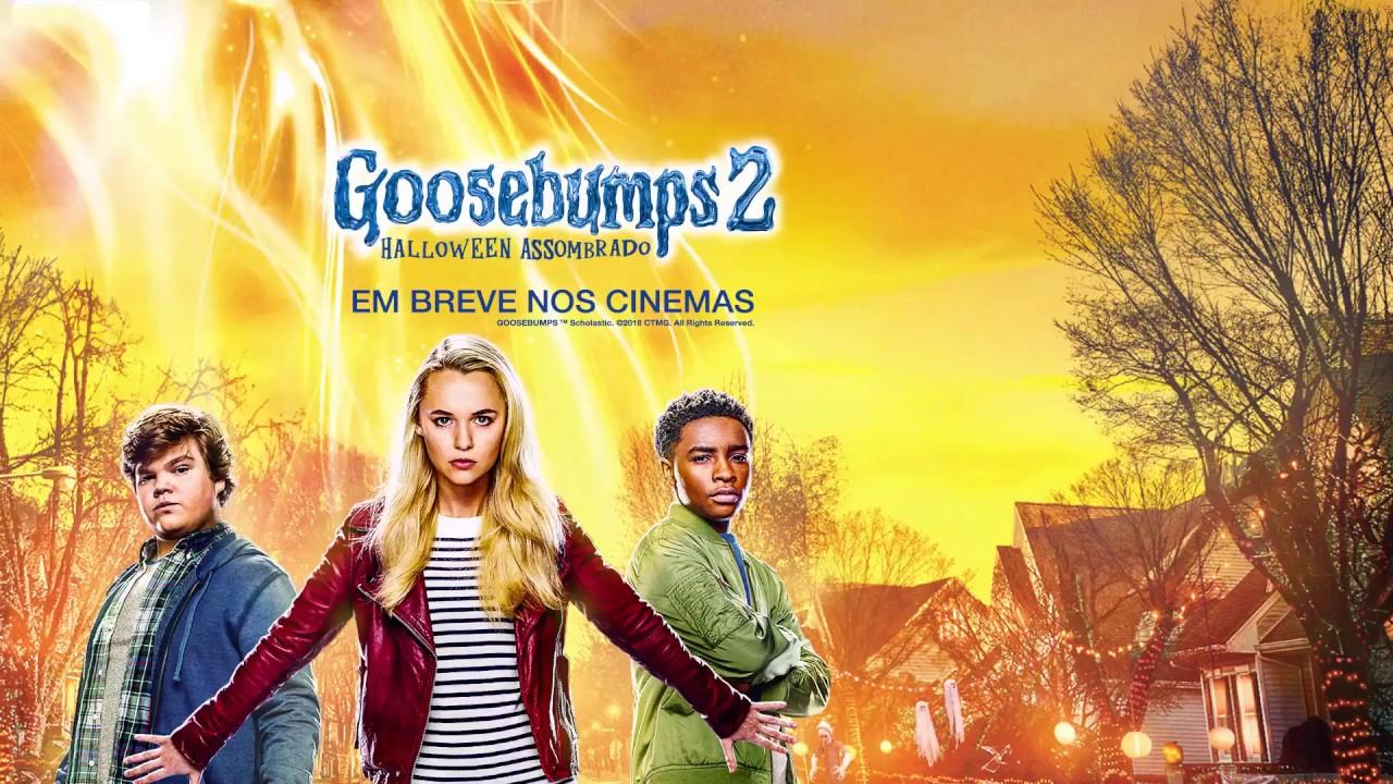 Goosebumps  Halloween Assombrado Goosebumps  Haunted Halloween  Trailer Legendado