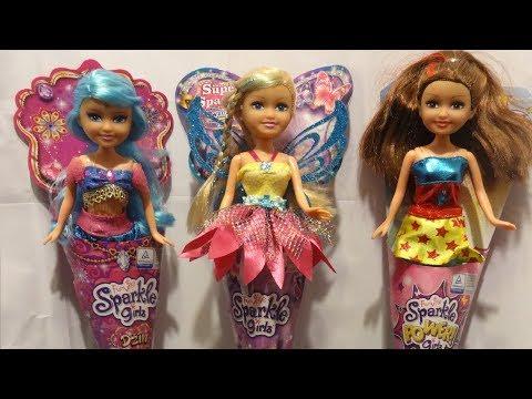 Baby Dolls for girls Funville Sparkle Girlz Dzin Genie Fairy Power Girlz #118