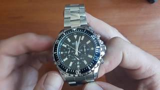 Обзор и настройка. Мужские часы Megir 2064 America на стальном браслете. Lekos