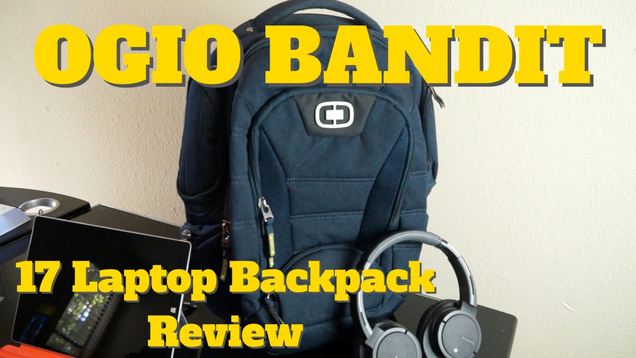 Review of OGIO International Bandit 17 Laptop Backpack - YouTube