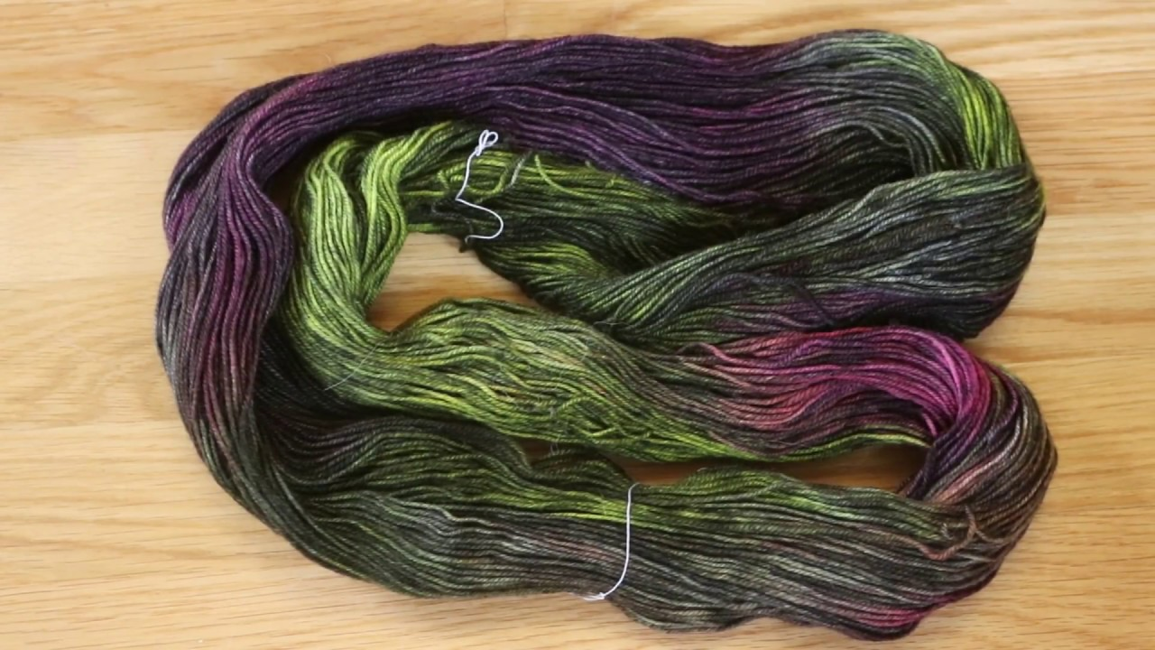 Dyepot Weekly #44 - Dyeing Glazed Yarn - Overdyeing Neon Colors with Black