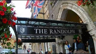 Oxford Royale summer students celebrate with circus tricks and treats at the Randolph Hotel