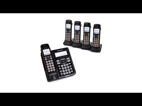 Panasonic DECT 6.0 5Handset Cordless Phones