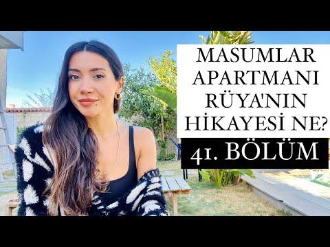 Masumlar Apartmanı RÜYA 'nın Hikayesi   Masumlar Apartmanı 41. Bölüm Yorumlaması
