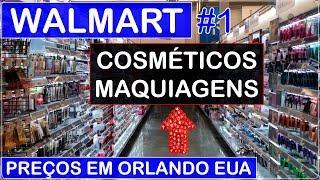 WALMART em ORLANDO #1 Compra de COSMÉTICOS e MAQUIAGENS com PREÇOS no Viajar Muda Tudo!