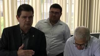 Prefeito de Limoeiro do Norte Zé Maria se reúne com Mauro Filho por benefícios para o município