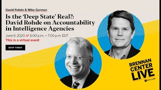 Is the 'Deep State' Real?: David Rohde on Accountability in Intelligence Agencies