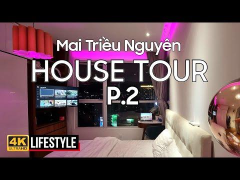 P.2 HOUSE TOUR | XEM CĂN HỘ 110M2 CỦA MAI TRIỀU NGUYÊN SAU 5 NĂM DỌN VỀ Ở | CĂN HỘ VIEW ĐẸP SÀI GÒN