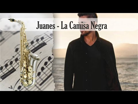 Partitura Juanes - La Camisa Negra Saxofón Alto