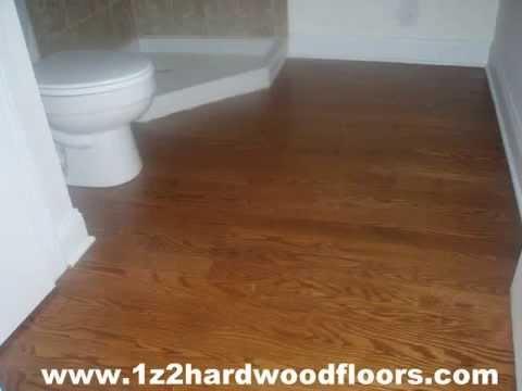Installation wood flooring per 2 sq ft nj youtube for Hardwood flooring 78666