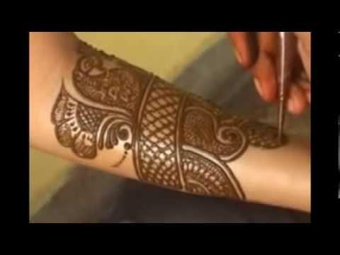 Easy Bridal Mehndi Patterns : Bridal mehndi designs easy step by youtube