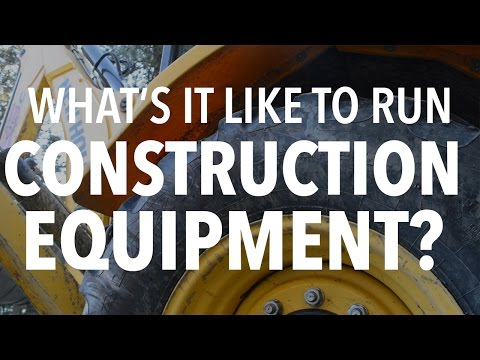 Can Any IDIOT Rent & Run Construction Equipment???