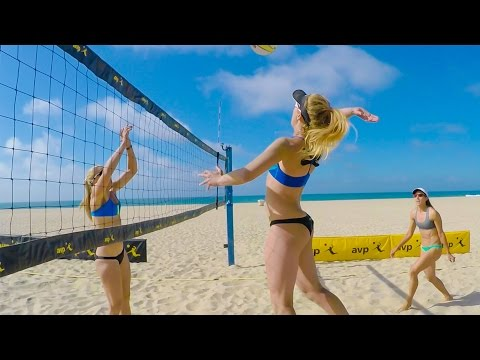 GoPro: Beach Volleyball with April Ross