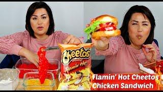 How to &quotTHE ORIGINAL&quot Hot Cheetos Chicken Sandwich   Views Recipe