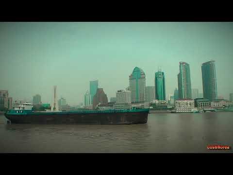 Huangpu River Cruise Shanghai - Trip to China part 46 - Full HD travel video