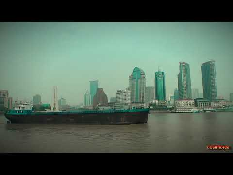 Huangpu River Cruise Shanghai - Trip to China part 46 - Full HD travel video