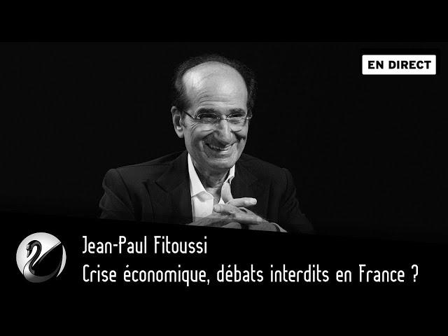 Crise économique, débats interdits en France ? Jean-Paul Fitoussi [EN DIRECT]