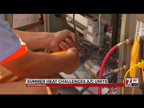 Summer heat challenges A/C units in the Upstate