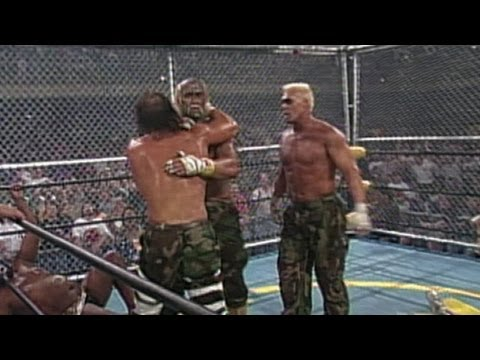 Hulk Hogan, Randy Savage, Sting & Lex Luger vs. The Dungeon