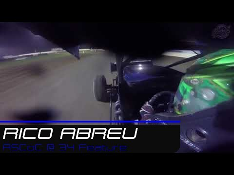 Rico Abreu | All Star Circuit of Champions @ 34 Raceway Feature | 7.28.19