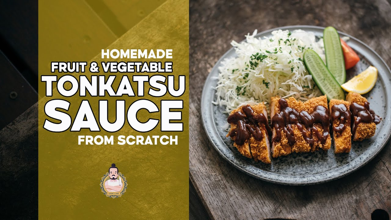 Homemade Tonkatsu Sauce Easy Japanese Recipes Youtube